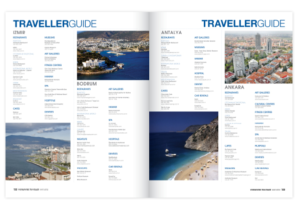 travel magazine layout   design portfolio
