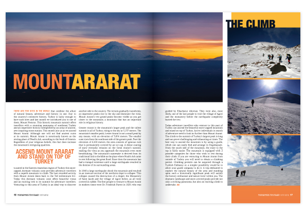 Travel Magazine Layout - Stephanie Guler / Design Portfolio