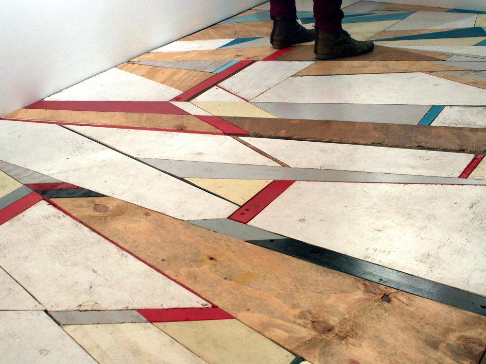 Floor Installation At Moniker Art Fair Mark McClure