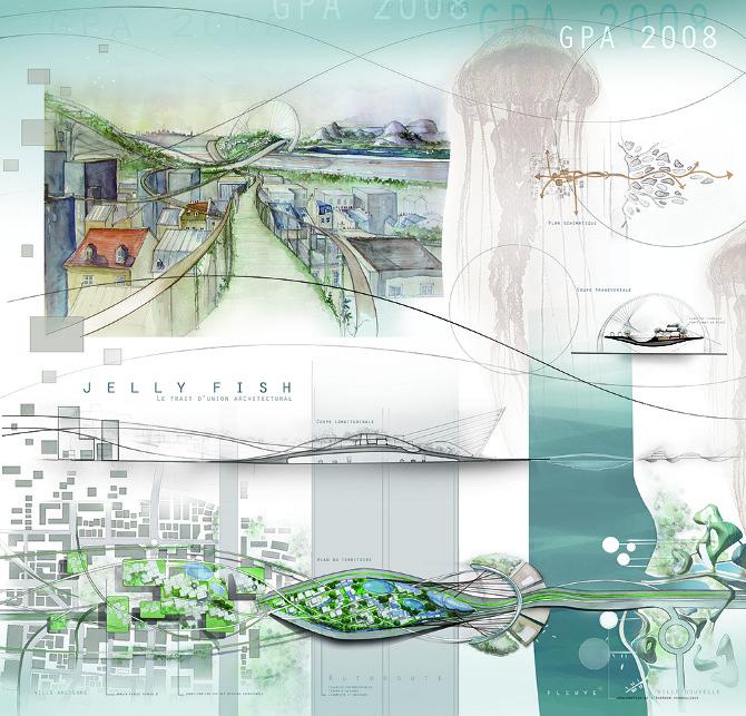 Grand prix d 39 architecture des beaux arts de paris 2008 matthieu bonato - Planche concours architecture ...