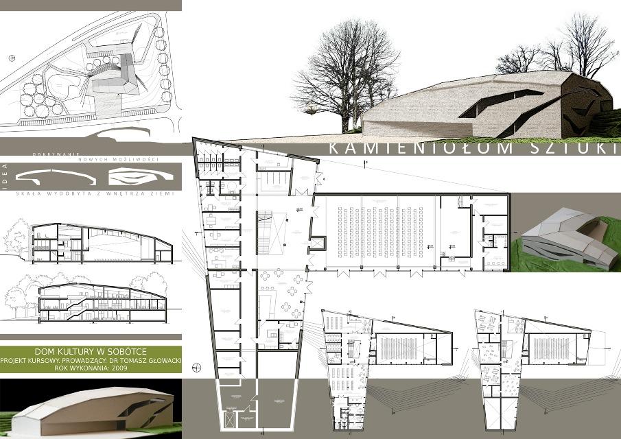 architektura us ugowa marta g rniak portfolio. Black Bedroom Furniture Sets. Home Design Ideas