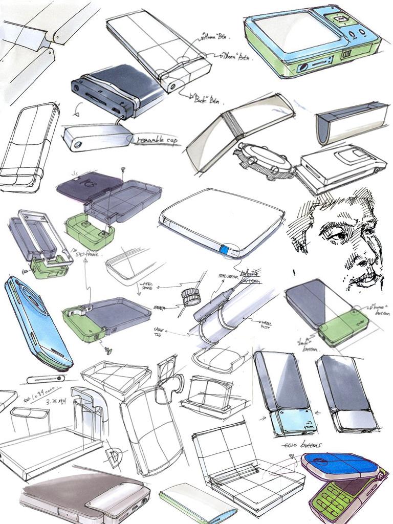 Product Design Line Art : Sketch product design portfolio